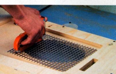 Как сделать сетки на динамики своими руками 194